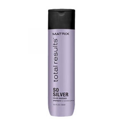 Шампунь против потускнения светлых волос - Total Results Color Obsessed So Silver, 300 мл.