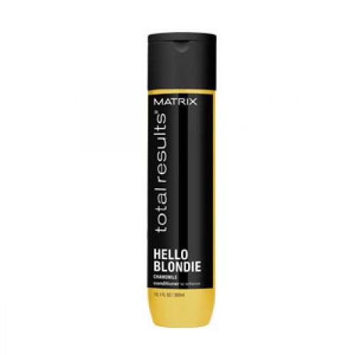 Кондиционер для волос оттенков блонд - Hello Blondie Matrix, 300мл